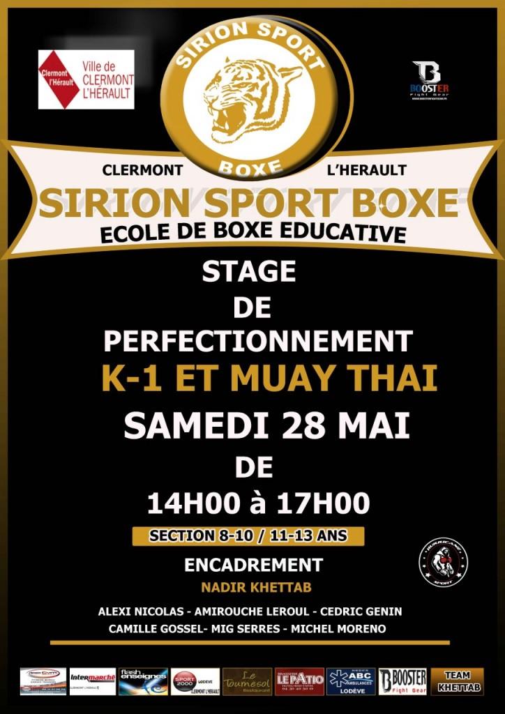 stage boxe 28 mai