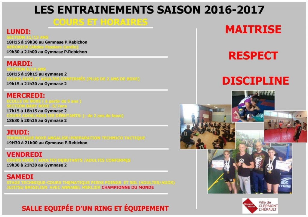 COURS 2016 2017