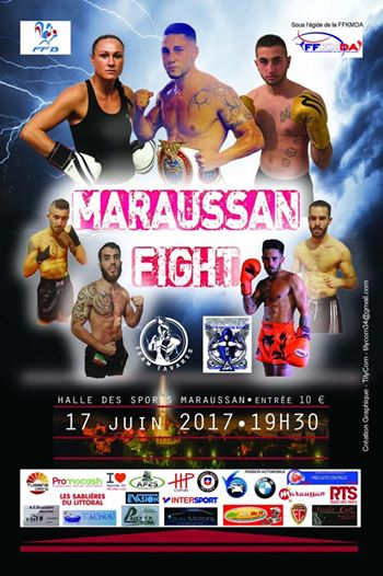 AFFICHE MAURAUSSAN FIGHT